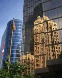 Κτήρια στο στο κέντρο της πόλης Βανκούβερ, Βρετανική Κολομβία, Καναδάς Στοκ φωτογραφία με δικαίωμα ελεύθερης χρήσης