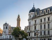 Κτήρια στο στο κέντρο της πόλης Μπουένος Άιρες κοντά σε Plaza de Mayo - το Μπουένος Άιρες, Αργεντινή Στοκ Εικόνα