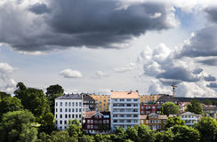 Κτήρια στο στο κέντρο της πόλης Όσλο 1 στοκ φωτογραφία με δικαίωμα ελεύθερης χρήσης