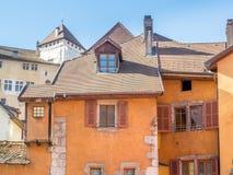Κτήρια στο Annecy, Γαλλία Στοκ Φωτογραφία