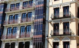 Κτήρια στο plaza zocodover, Τολέδο, Ισπανία Στοκ Φωτογραφία
