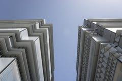 κτήρια σύγχρονα Στοκ φωτογραφία με δικαίωμα ελεύθερης χρήσης