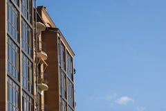 κτήρια σύγχρονα Στοκ εικόνα με δικαίωμα ελεύθερης χρήσης