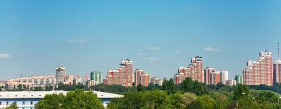 κτήρια σύγχρονη Μόσχα Στοκ φωτογραφία με δικαίωμα ελεύθερης χρήσης