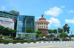κτήρια σύγχρονη Σινγκαπούρη Στοκ εικόνες με δικαίωμα ελεύθερης χρήσης