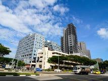κτήρια σύγχρονη Σινγκαπούρη Στοκ Φωτογραφίες