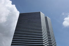 κτήρια τεράστια Στοκ Εικόνα