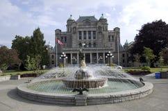Κτήρια του Κοινοβουλίου Βρετανικής Κολομβίας Στοκ Εικόνες