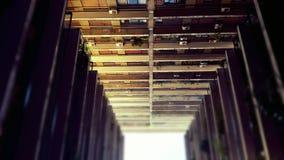 κτήρια τρία στοκ εικόνα