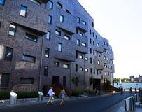 Κτήρια Όσλο Sorenga Στοκ Φωτογραφία
