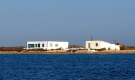 Κτήρια Ilha de Culatra Πορτογαλία Στοκ Εικόνες