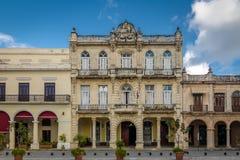 Κτήρια Plaza Vieja - της Αβάνας, Κούβα Στοκ Εικόνα