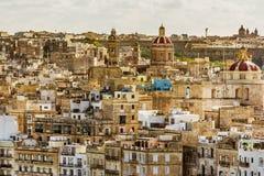 Κτήρια Valletta, Μάλτα Στοκ Εικόνες