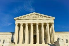 Κτήριο ανώτατου δικαστηρίου των Ηνωμένων Πολιτειών της Αμερικής στοκ φωτογραφία