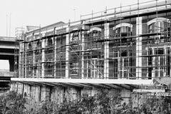 Κτήριο αποκατάστασης Στοκ φωτογραφίες με δικαίωμα ελεύθερης χρήσης