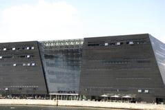 Κτήριο βιβλιοθηκών διαμαντιών DENMARK_black Στοκ Εικόνα