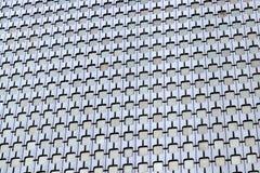 Κτήριο γραφείων 80 αρχιτεκτονική ύφους ` s στην υπεράσπιση Λα του Παρισιού Στοκ Εικόνες
