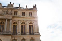 Κτήριο γωνιών των Βερσαλλιών Στοκ φωτογραφία με δικαίωμα ελεύθερης χρήσης