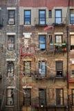 κτήριο διαμερισμάτων Νέα Υό Στοκ Εικόνες