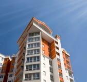 κτήριο διαμερισμάτων νέο Στοκ εικόνα με δικαίωμα ελεύθερης χρήσης