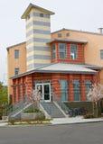 κτήριο διαμερισμάτων νέο Στοκ Εικόνες