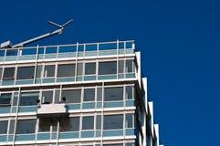 κτήριο διαμερισμάτων Στοκ Εικόνες