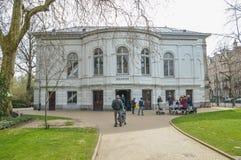 Κτήριο ενυδρείων στο ζωολογικό κήπο Άμστερνταμ Artis οι Κάτω Χώρες Στοκ Εικόνα