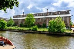 Κτήριο εργοστασίων Στοκ Φωτογραφία