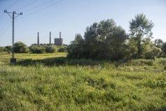 Κτήριο εργοστασίων στοκ εικόνες με δικαίωμα ελεύθερης χρήσης