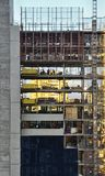Κτήριο εργοτάξιων οικοδομής Στοκ φωτογραφία με δικαίωμα ελεύθερης χρήσης