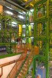Κτήριο εσωτερικών στο Κέντρο Πυρηνικών Μελετών και Ερευνών (CERN) Στοκ φωτογραφία με δικαίωμα ελεύθερης χρήσης
