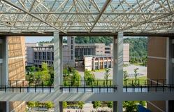 Κτήριο διδασκαλίας του πανεπιστημίου FuZhou Στοκ Φωτογραφίες