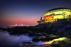 Κτήριο και Skline του APEC Busan Στοκ εικόνες με δικαίωμα ελεύθερης χρήσης