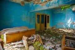 Κτήριο καταστροφών Στοκ εικόνες με δικαίωμα ελεύθερης χρήσης