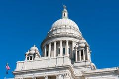 Κτήριο κρατικού Capitol Ρόουντ Άιλαντ στοκ φωτογραφία