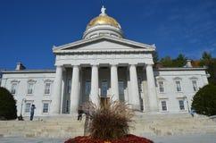 Κτήριο κρατικού Capitol σε Montpelier Βερμόντ στοκ φωτογραφία