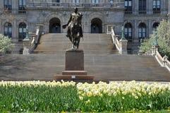 Κτήριο κρατικού Capitol της Νέας Υόρκης στο Άλμπανυ Στοκ φωτογραφία με δικαίωμα ελεύθερης χρήσης