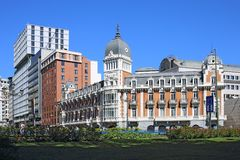 Κτήριο, Μαδρίτη, Ισπανία Στοκ φωτογραφία με δικαίωμα ελεύθερης χρήσης