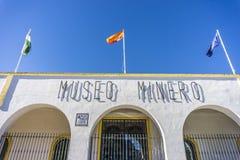 Κτήριο μουσείων μεταλλείας στο Minas de Riotinto Στοκ φωτογραφία με δικαίωμα ελεύθερης χρήσης