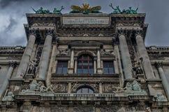Κτήριο μουσείων της Βιέννης Στοκ εικόνες με δικαίωμα ελεύθερης χρήσης