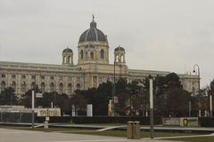 Κτήριο μουσείων Kunst Στοκ φωτογραφία με δικαίωμα ελεύθερης χρήσης
