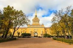 Κτήριο ναυαρχείου, Αγία Πετρούπολη στοκ φωτογραφίες με δικαίωμα ελεύθερης χρήσης