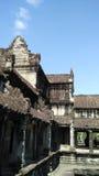 Κτήριο ναών της Καμπότζης Στοκ εικόνες με δικαίωμα ελεύθερης χρήσης