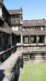 Κτήριο ναών της Καμπότζης Στοκ Εικόνες