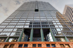 10 κτήριο νότιου LaSalle - Σικάγο Στοκ Φωτογραφία