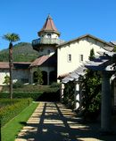 Κτήριο οινοποιιών, Sonoma, Καλιφόρνια Στοκ Εικόνα