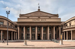 Κτήριο οπερών - θέατρο Solis (Teatro Solis) Στοκ Εικόνα