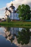 Κτήριο Ορθόδοξων Εκκλησιών με τους θόλους Στοκ Εικόνα