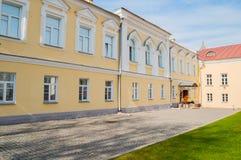 Κτήριο παλατιών Αρχιεπισκόπου ` s, το παλάτι του μουσείου απόψεων σε Veliky Novgorod, Ρωσία Στοκ φωτογραφίες με δικαίωμα ελεύθερης χρήσης
