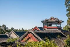 Κτήριο περίπτερων Baoyun θερινών παλατιών του Πεκίνου Στοκ Εικόνα